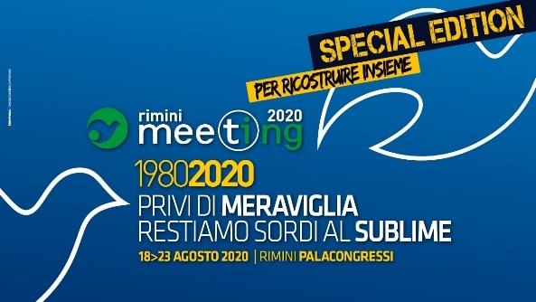 """Meeting di Rimini 2020 """"Privi di meraviglia restiamo sordi al sublime"""""""
