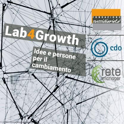 LAB4GROWTH – Idee e persone per il cambiamento
