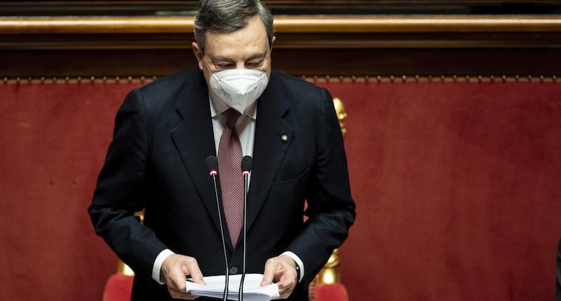 Il discorso integrale di Mario Draghi al Senato